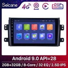 Seicane Auto Radio Voor 2006 2012 Suzuki SX4 Android 9.0 9 Inch 2Din Hd Touchscreen Gps Multimedia Speler Ondersteuning bluetooth Wifi