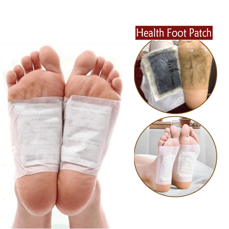 30 Pairs Kinoki Detox Foot Patches Pads Toxins Feet Slimming Cleansing Herbal Body Health Adhesive Pad Weight Loss Foot Sticker
