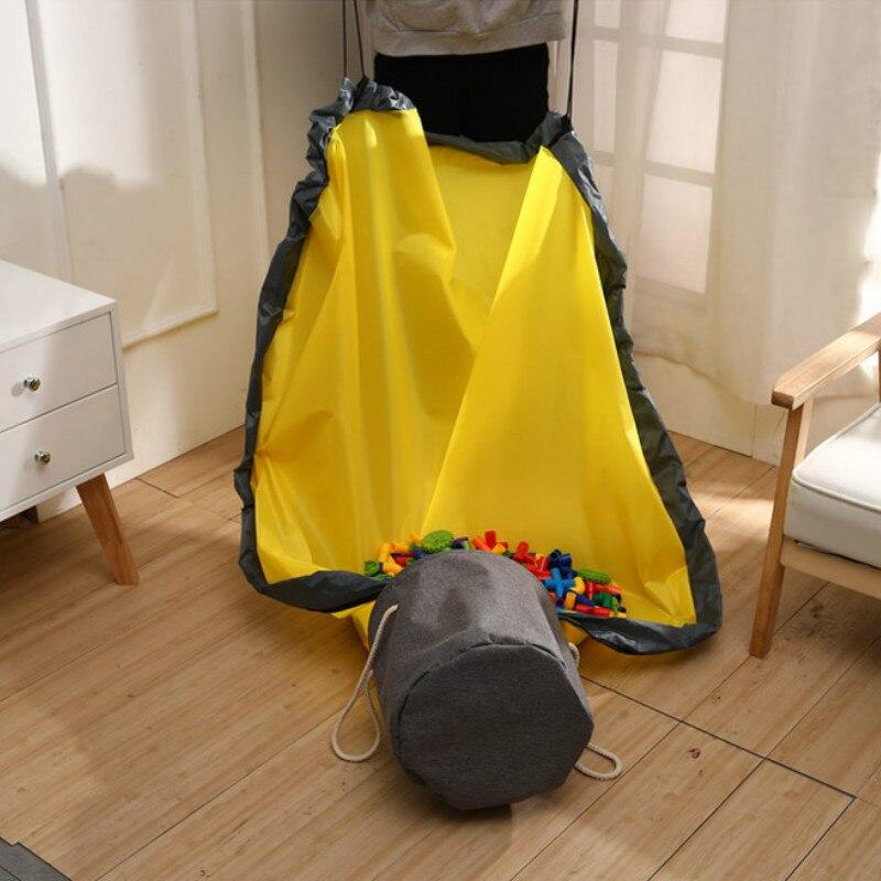 Fëmijët e rinj të palosshëm portabël luajnë lodër pastrimi dhe - Lodra për bebe - Foto 4