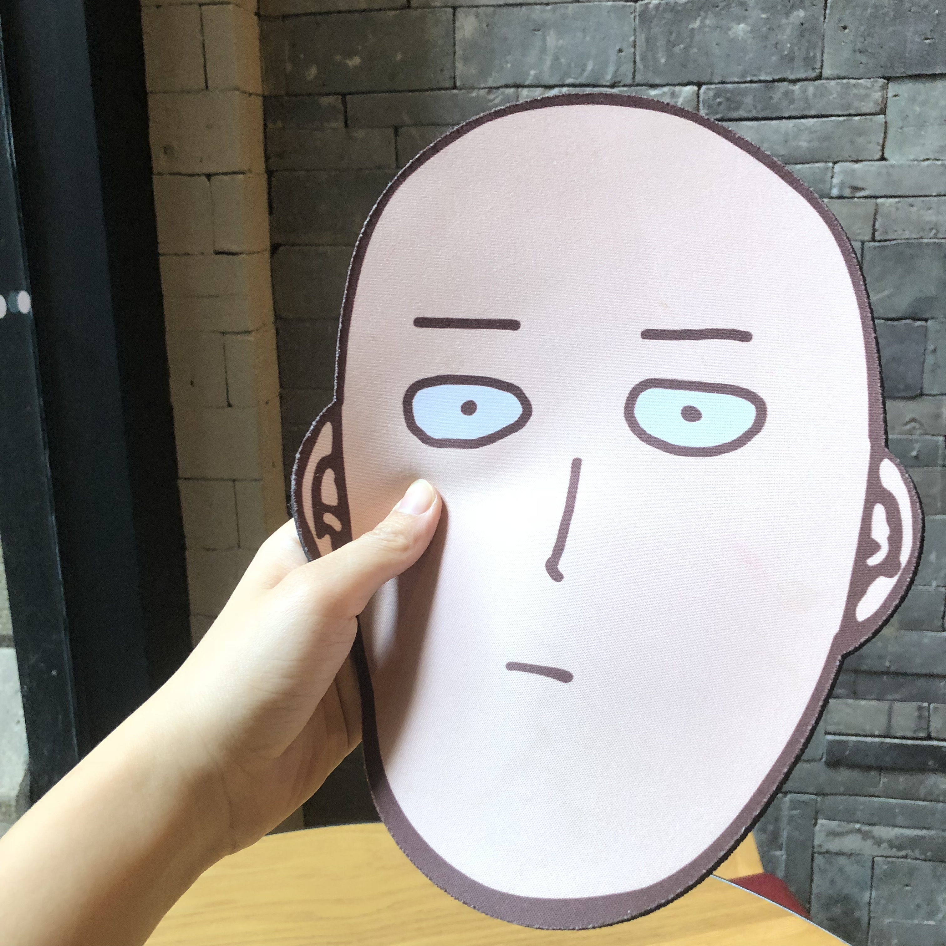 One Punch Man Humor Face Doge Funny Sakura Mouse Magic Pad Array Pad Feel Funny Of Power Koro Array Happy Mask Working Gift