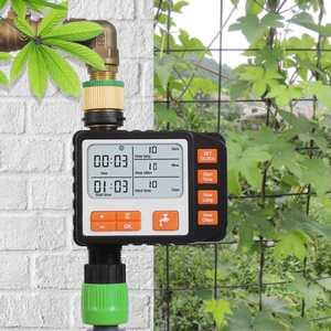Temporizador automático de riego de agua, controlador de pantalla Lcd, temporizador de riego de jardín, dispositivo controlador, herramienta de pantalla Digital