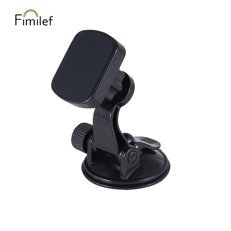 Universal Magnetic Car Holder Windshield Suction Cup Mount Stand 360 Rotation Mount Holder GPS Mobile Phone Holder For IPhone 11