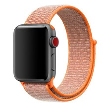 Band For Apple Watch Series 4 3 2 38 42 MM Nylon Soft Breathable Replacement Strap Sport Loop watch series 40 44