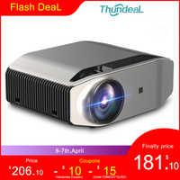 ThundeaL Full HD Nativen 1080P Projektor TD96 Projektor 6500Lumen LED Drahtlose WiFi Multi-Bildschirm Beamer 3D Video proyector