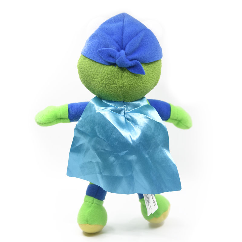 23cm New Cute Muppets Show eye mask Kermit Frog miss piggy Soft Stuffed Plush Toy Doll in Movies TV from Toys Hobbies