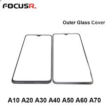 LCD Screen Display Front Outer Glass Lens Cover For Samsung