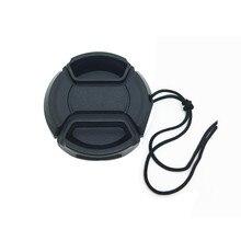 10 Stks/partij 37Mm Center Pinch Snap On Cap Cover Logo Voor Olympus Lens
