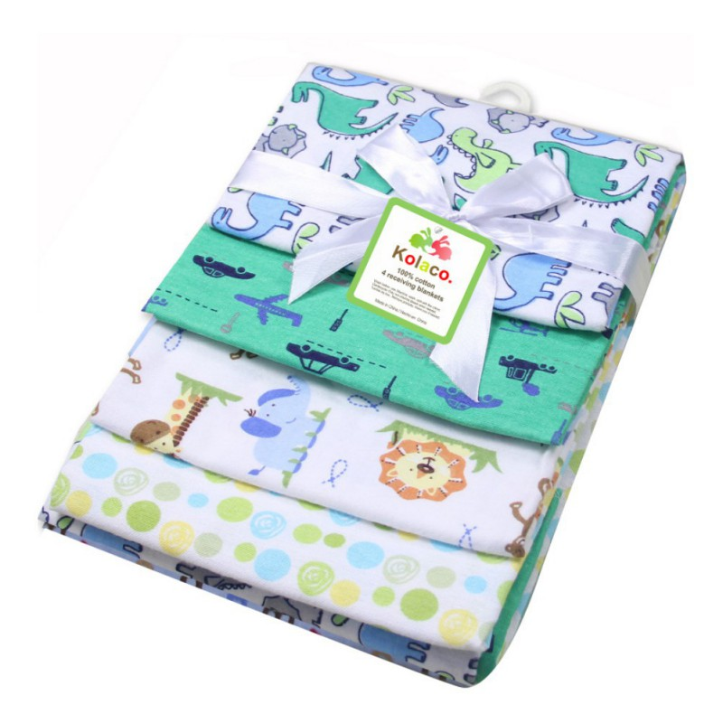 4 Pcs Cotton Newborn Baby Girl Boy Mattress 21 Color Animal Fitted Crib Sheets Toddler Bed Mattresses Cartoon Standard Mattress