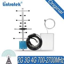 700 2700mhz אנטנת סט עבור אות מהדר מהדר GSM WCDMA DCS UMTS מגבר 4G LTE 12dBi חיצוני יאגי אנטנה
