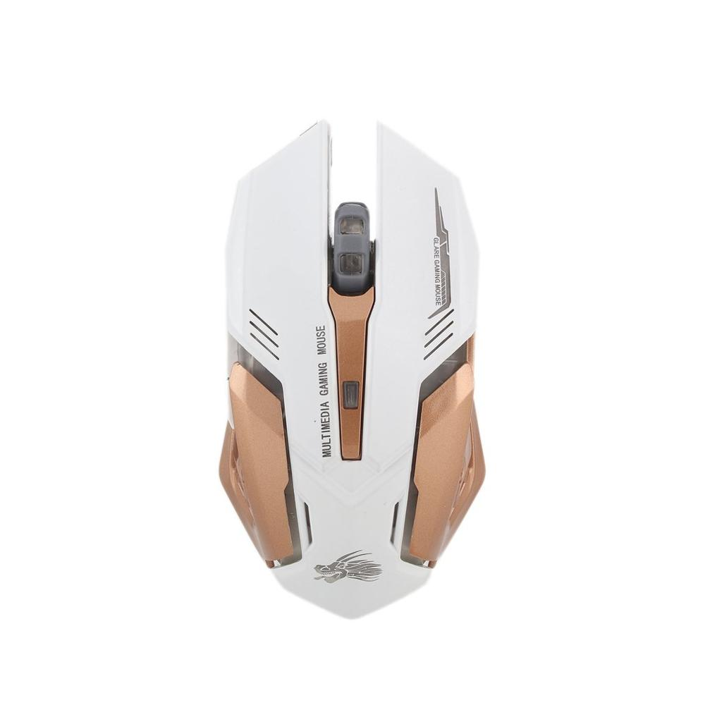 LED Backlight 6 Buttons Optical DPI Wired Gaming Mouse For PC Laptop