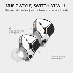Image 2 - TFZ HIFI In Ear Wired Earphone Metal cavity Stereo headset,KING EDITION Mode adjustment Noise Isolating Earphone
