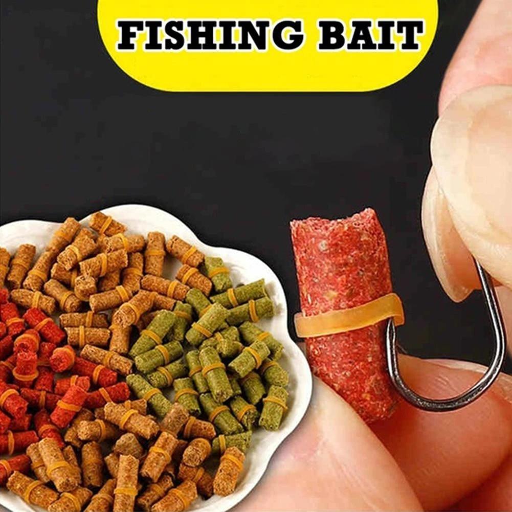 tuzhitech 100Pcs River Sea Fishing Tackle Carp Fish Baits Fresh Scent Crucian Grass Lures-The Fishing Gifts For Men