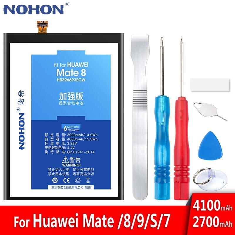 Nohon huawei社メイト 8 9 10 20 プロ 7 s P20 プロHB396693ECW HB396689ECW HB436486ECW HB436178EBW交換bateriaの