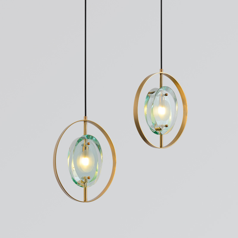 Hanglamp Deco Maison Crystal LED  Pendant Lights  Restaurant  Home Decoration E27 Light Fixture Deco Chambre Hanglamp