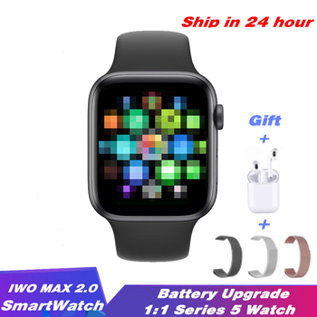 Reloj inteligente IWO Max 2,0 PK IWO 8 12 IWO 13, reloj inteligente deportivo serie 5 con control del ritmo cardíaco, llamadas, Bluetooth y correa para Android IOS