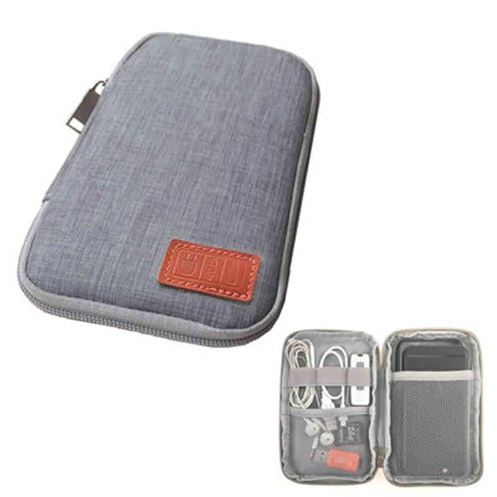 Набор для путешествий маленькая сумка чехол для мобильного телефона цифровое устройство USB кабель для передачи данных Органайзер дорожный вставленный мешок, мешок для вещей|Принадлежности для путешествия|   | АлиЭкспресс