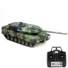 3889 танки Игрушки 1:16 2,4 г немецкий Леопард 2A6 танк на ИК-управлении реальная симуляция звук излучения дыма пуля тяжелый Радиоуправляемый гусеничный Радиоуправляемый танк