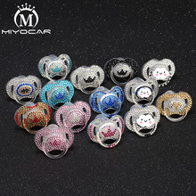 BLING 12 colors bling crystal rhinestone Baby Pacifier/ Nipples /Dummy /cocka /c
