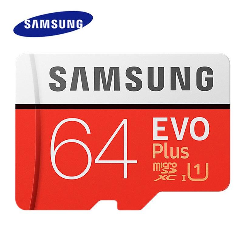 100% оригинальная карта памяти SAMSUNG 64 Гб 128 ГБ 256 ГБ 512 ГБ SDXC U1 U3 Micro SD карта C10 UHS TF карты Flash Microsd с адаптером