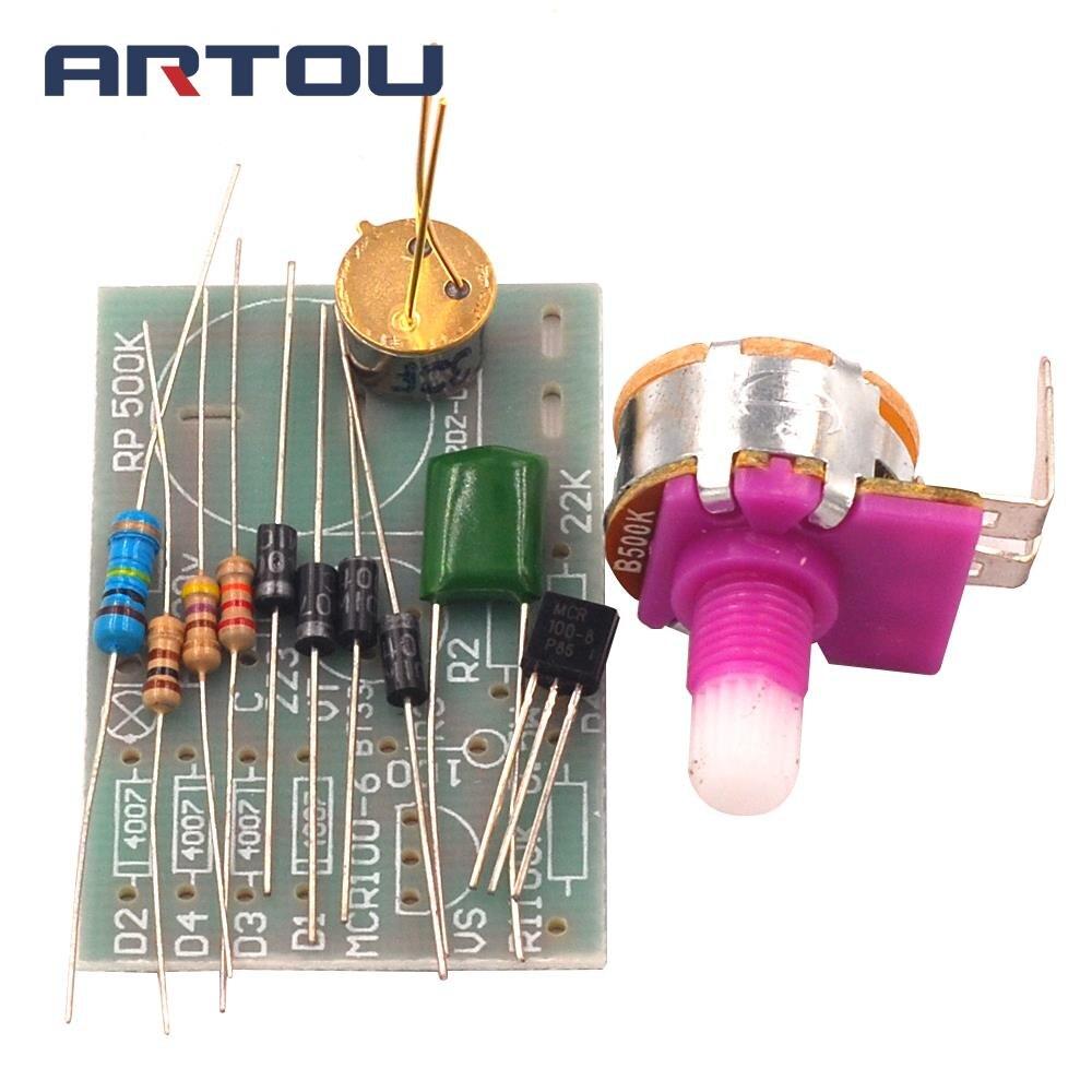 Transistor BT33 Desk Lamp Dimmable Circuit Kit Electronic Production DIY Kit Circuit Board Manual Training