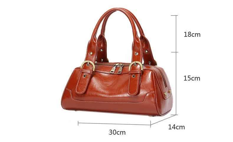 Женские сумки из натуральной кожи, роскошные сумки с двойной молнией, дизайнерские женские сумки на плечо из натуральной воловьей кожи, сумка C1254
