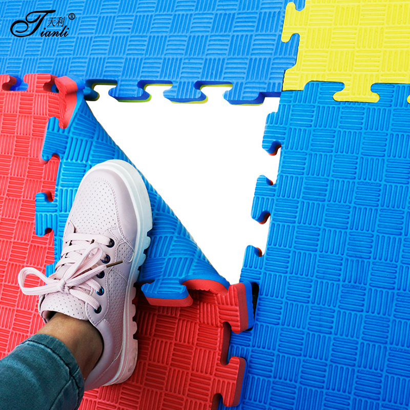 Tianli Foam Coaster 100*100 Gym Training Yoga Mat Tatami Eva Taekwondo Mats 3.0