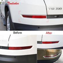 Tonlinker наклейки на обложку для skoda kodiaq 2017 18 автомобильный