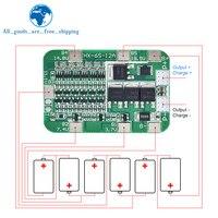 TZT 6S 12A 24V PCB BMS scheda di protezione per 6 pacchi 18650 batteria al litio agli ioni di litio modulo nuovo arrivo