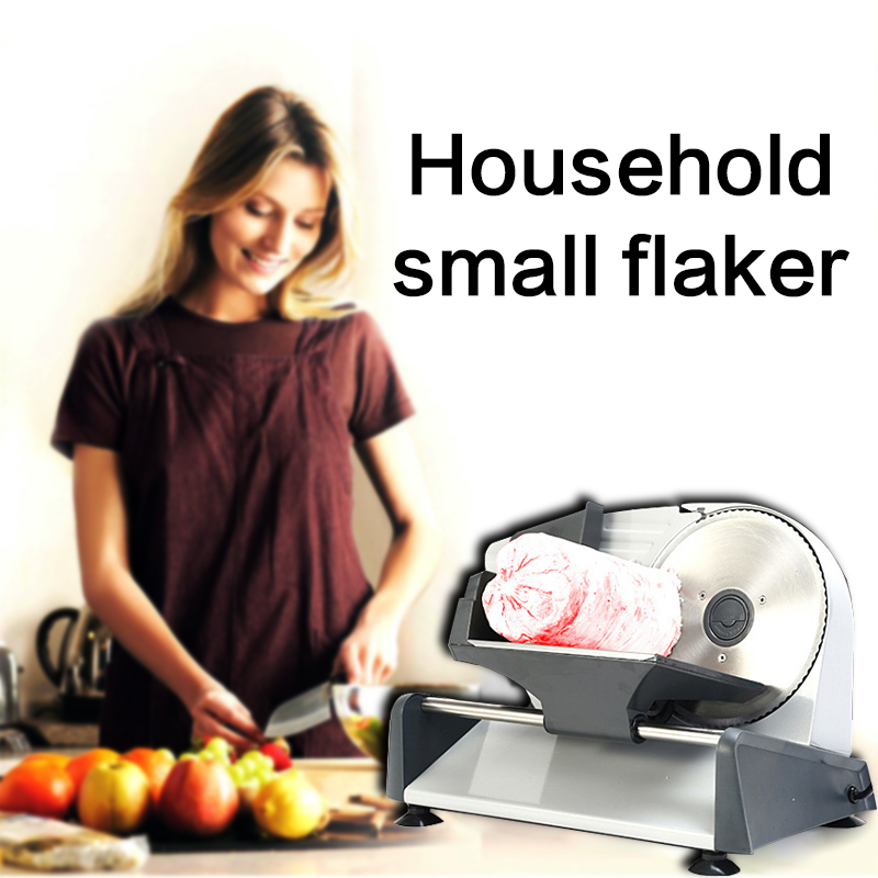 220V Adjustable Thin Thick Multi-function Household Electric Meat Slicer Small Automatic Fruit And Vegetable Slicer Toast Slice