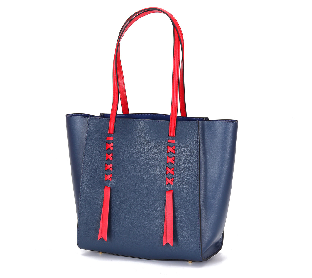 Bag Women's 2019 Summer Europe And America New Style Large-Volume Shoulder WOMEN'S Leather Bags Tote Bag Women's Hand Over-the-s