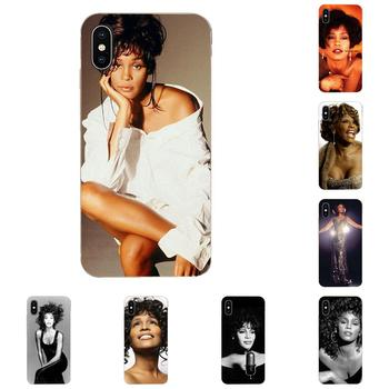 Soft Shell For HTC Desire 530 626 628 630 816 820 830 One A9 M7 M8 M9 M10 E9 U11 U12 Life Plus Sexy Singer Whitney Houston image