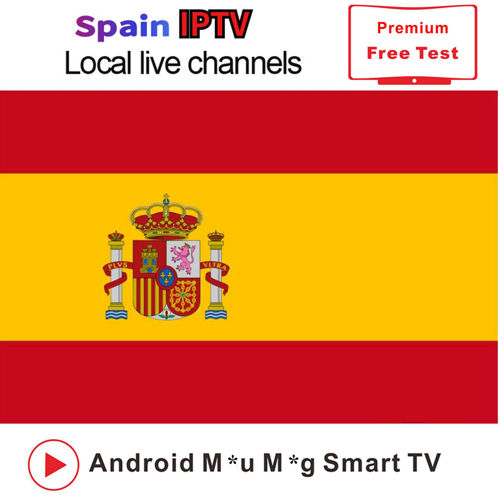 IPTV Subscription Spain 1 Year With Spanish Live Tv Adult Channels M3u Code For IPTV Smarters Smart TV Box Android Enigma2 IOS