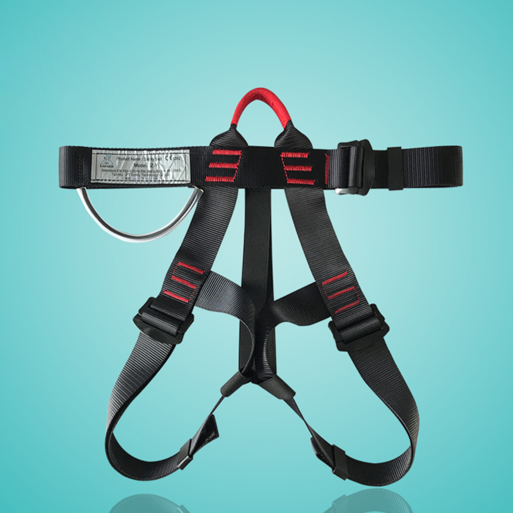 Ultimate SaleåBelt Climbing-Harness for Rock Hot Braided Density Strong-Tension Very-Durable Safe Half-Body