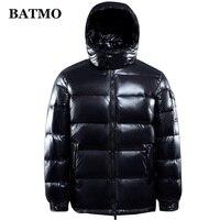 BATMO 95% white duck down hooded jackets men,men's winter down jackets ,parkas men,plus size M 4XL R103