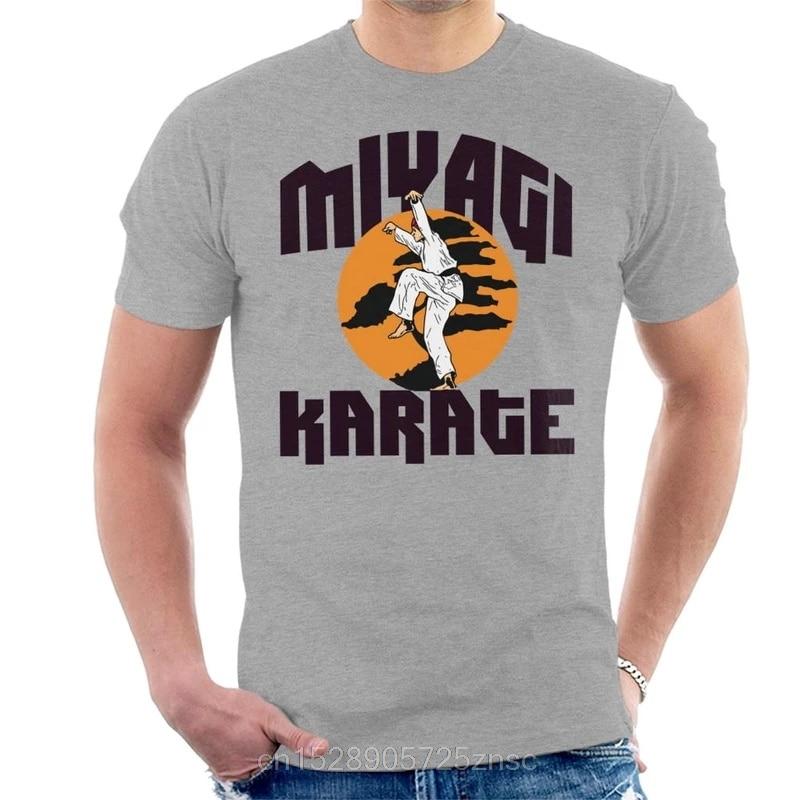 Camiseta masculina feminina miyagi da escola do miúdo do karate