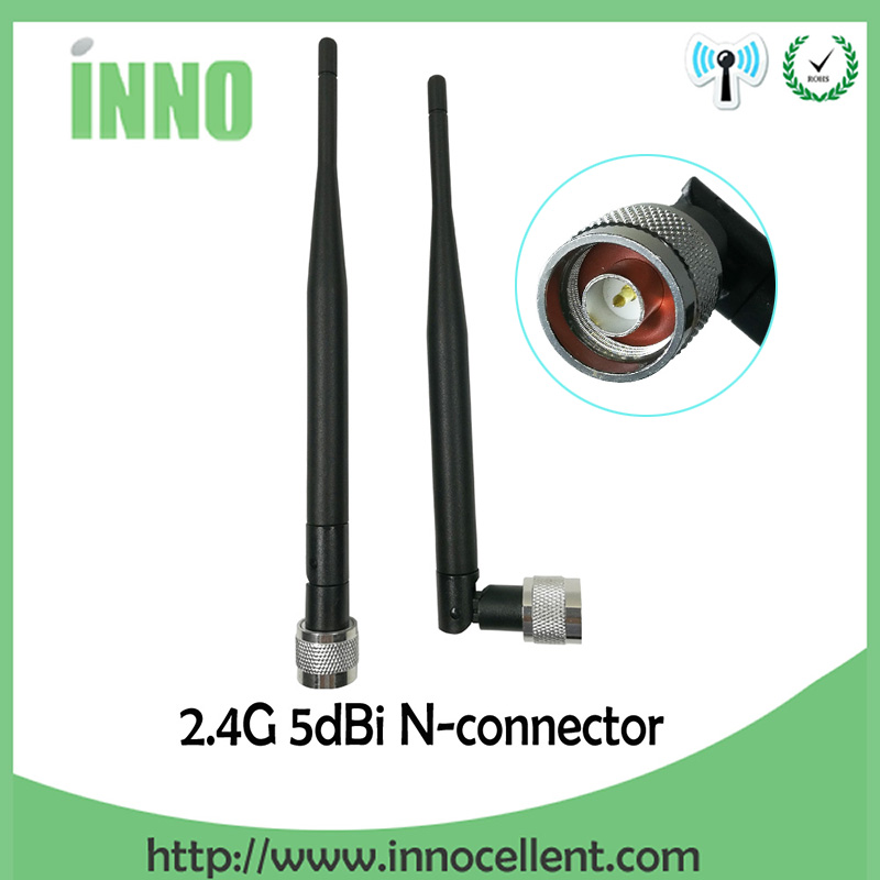 2.4ghz 5dbi Omni Wifi Antenna with N Male Connector for Wireless Router Ships from USA