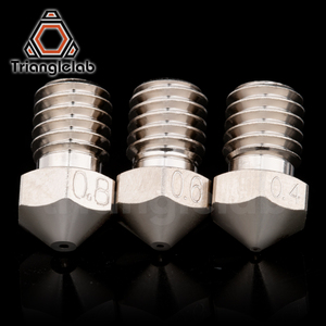 Image 4 - Trianglelab T V6 Plated Copper Nozzle Durable Non stick High Performance For 3D Printers Hotend M6 Thread For E3D V6 Hotend