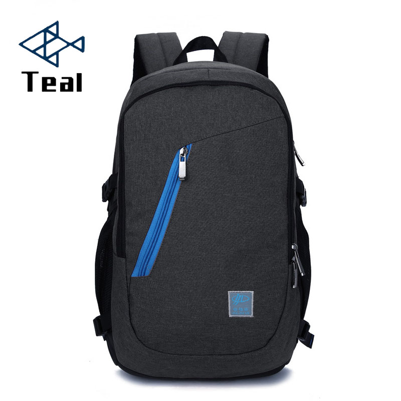 Backpack Men School Student Loptop Backbags for USB IPAD Backpack Travel Day packs Mochila Hombre Back Pack For Male in Backpacks from Luggage Bags