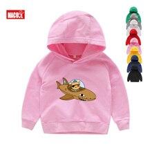 Kids Boys and Girls Clothing Cartoon Hoodies Clothes 6T Sweatshirts Camiseta Menino Octonauts Pink