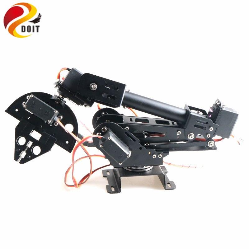 DoArm S7 7DoF alliage d'aluminium métal Robot bras/main Robot manipulateur ABB bras modèle griffe pour Arduino