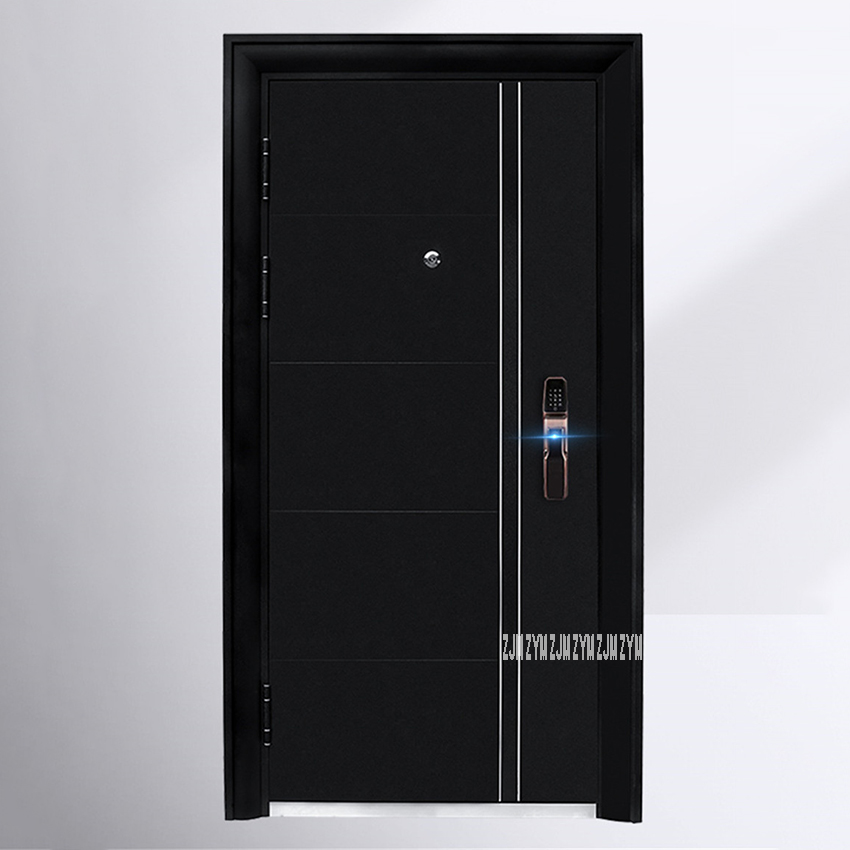 KR-9005 Household Simple Gate Entrance Door Burglarproof Door Anti-Theft Security Door With Intelligent Lock/Mechanical Lock