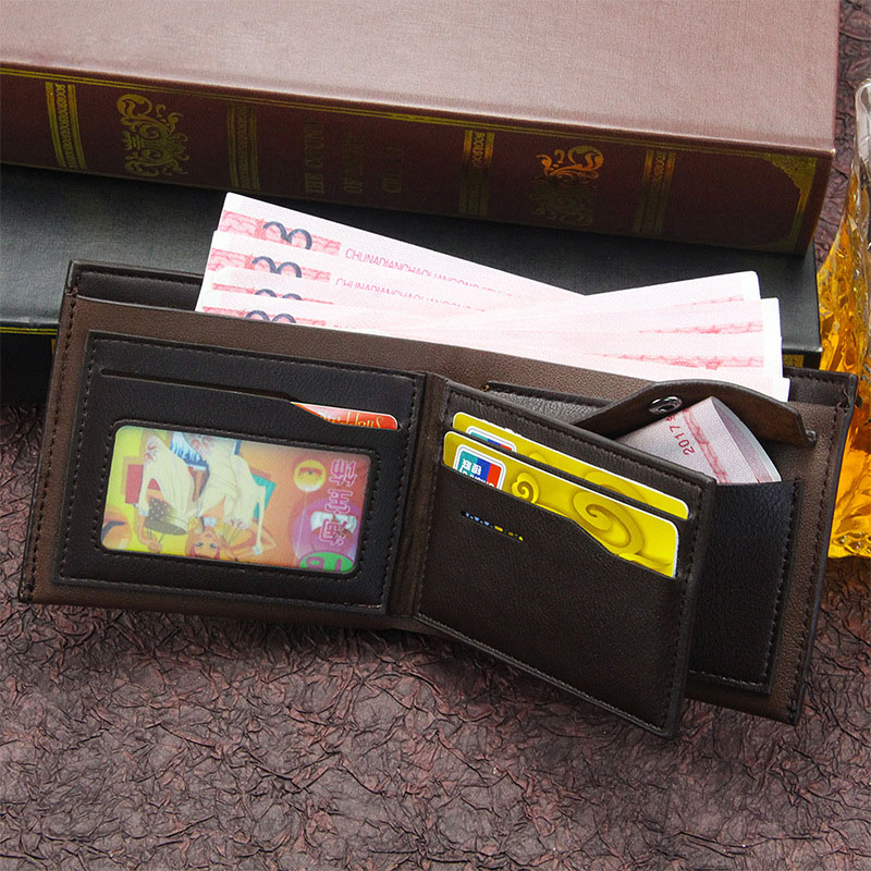 Купить с кэшбэком men's wallet PU leather genuine portefeuille homme short mens purses carteira masculina coin money bag  perfect men wallets