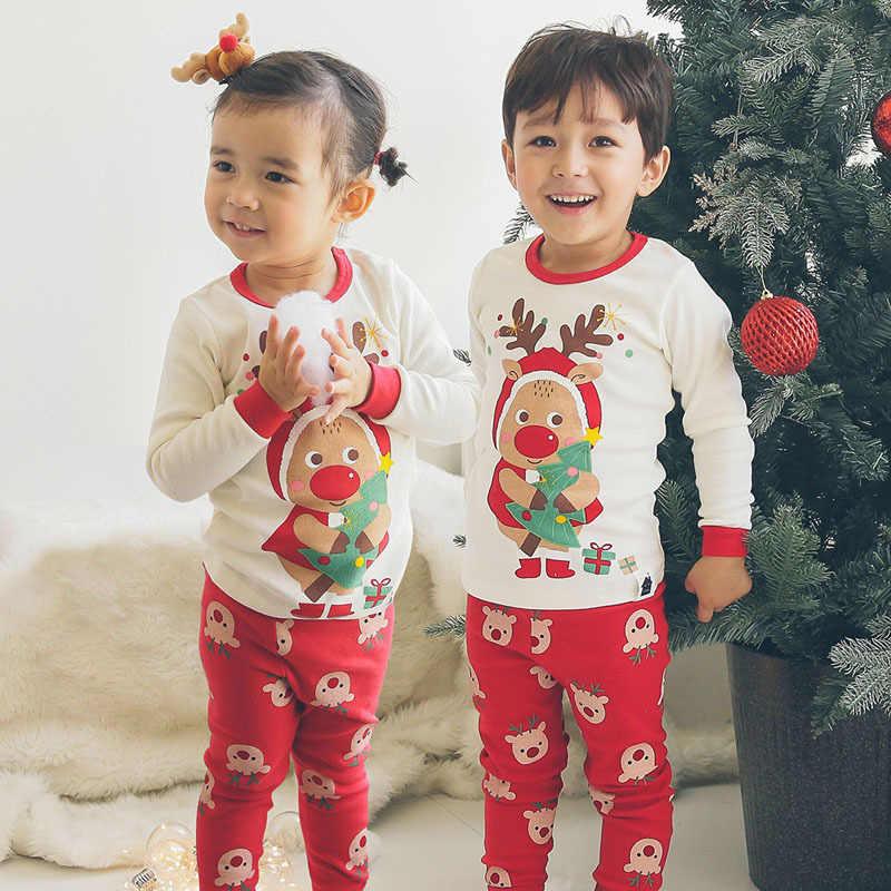 Red and White Christmas Pajamas