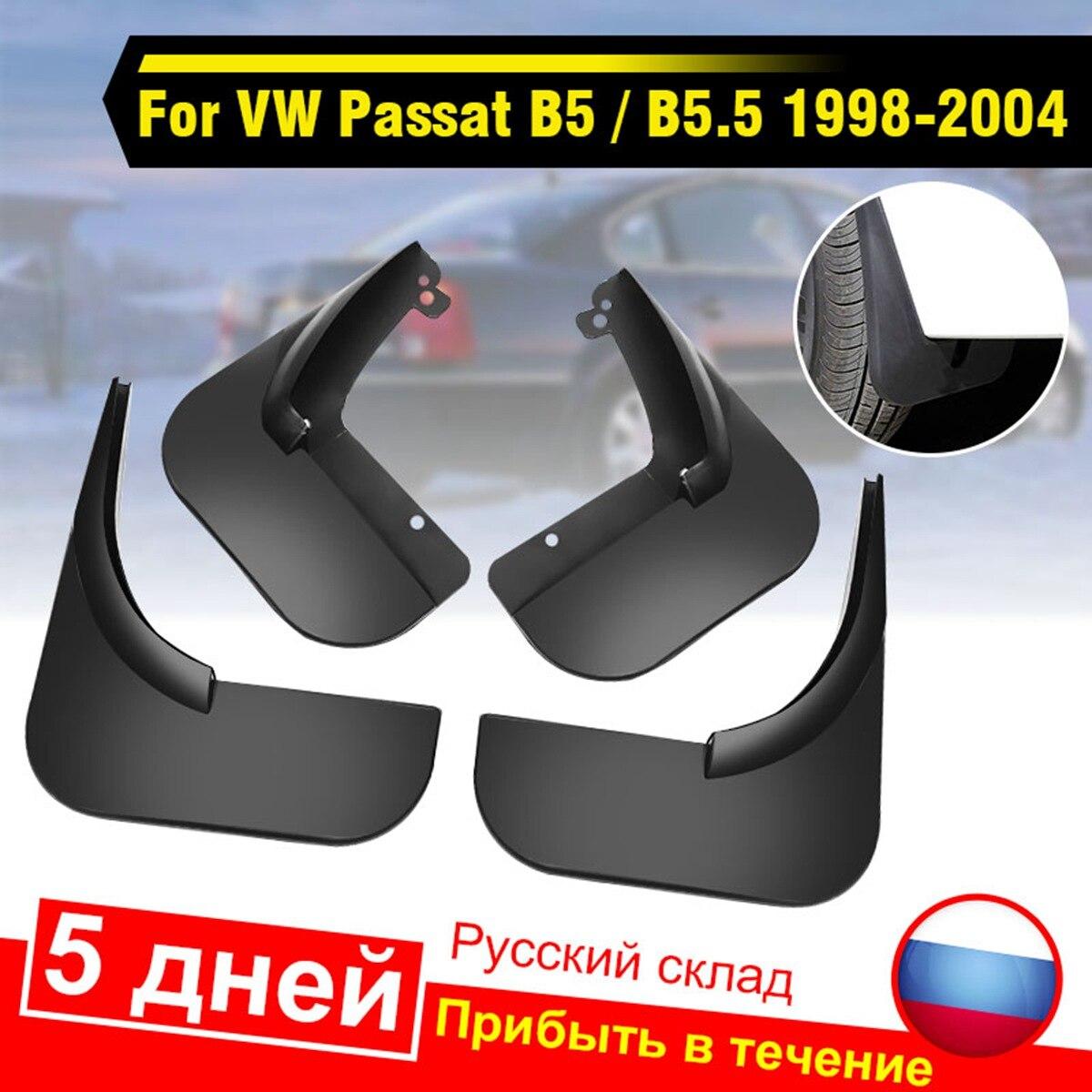 4Pcs Car Front Rear Mud Flap Mudguards Splash Guards for VW Passat B5 / B5.5 1998-2004