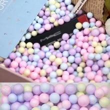 8000 шт 2-4 мм/1000 шт 5-10 мм пенопластовые шарики для рукоделия пузырьковый шар Подарочная коробка DIY маленькие крошечные пенопластовые шарики с пенопластовым наполнителем вечерние украшения