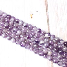 Dream Amethyst Natural Stone Beads For Jewelry Making Diy Bracelet Necklace 4/6/8/10/12 mm Wholesale Strand