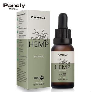 3000 мг органические эфирные масла конопляное масло травяные капли снимают стресс КБР масло уход за кожей тела помощь сна для снятия тревоги