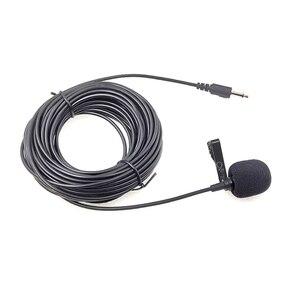 Image 3 - 10M Mở Rộng Cáp Lavalier Microphone Ngoài Trời Trực Tiếp Phát Sóng Micro Cổ Áo, Mic Cho Bộ Khuếch Đại Điện Thoại Di Động