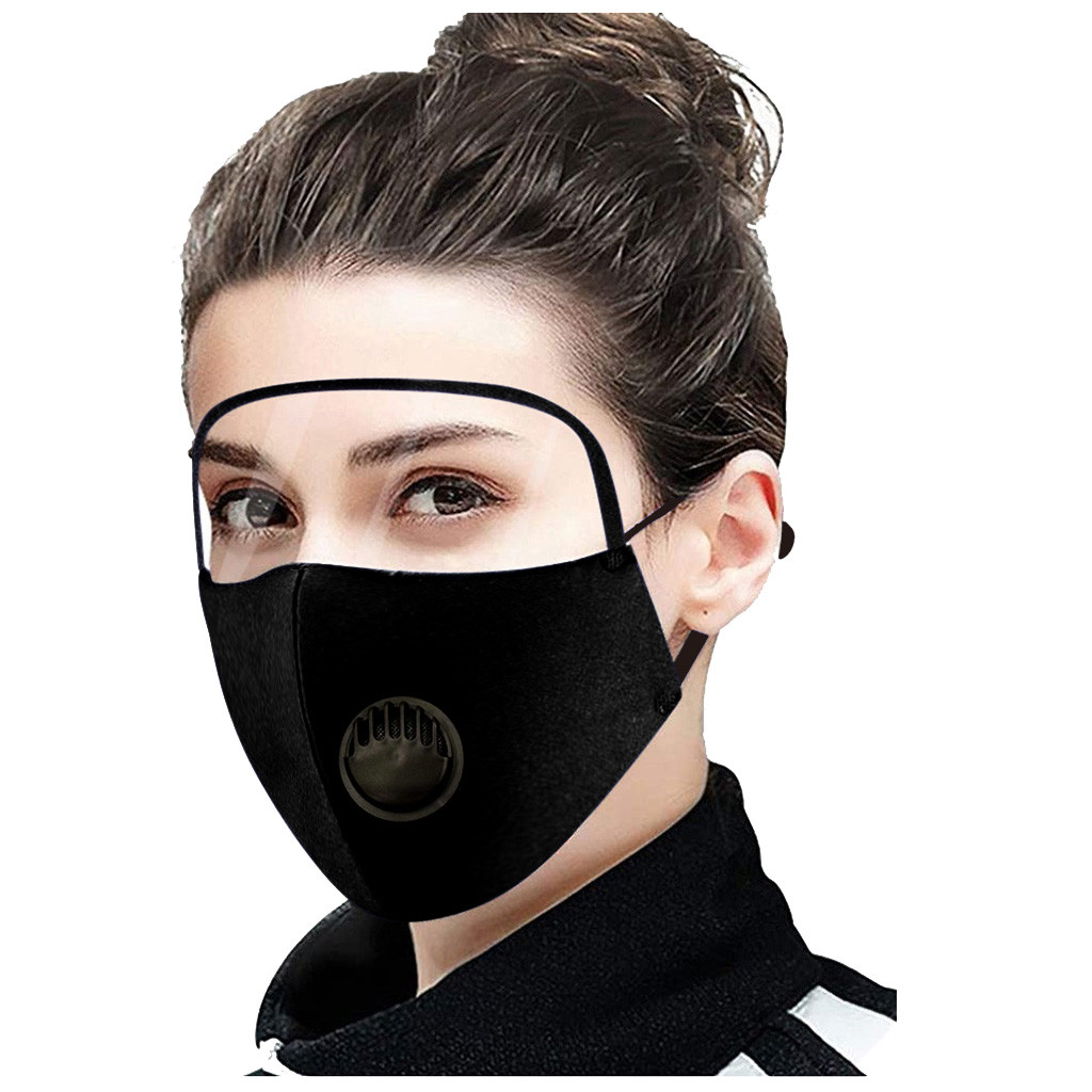Наружная Пылезащитная противотуманная Защитная дышащая маска для лица с Защита для Глаз Универсальная регулируемая многоразовая смываемая маска унисекс для взрослых|Маска для велоспорта|   | АлиЭкспресс