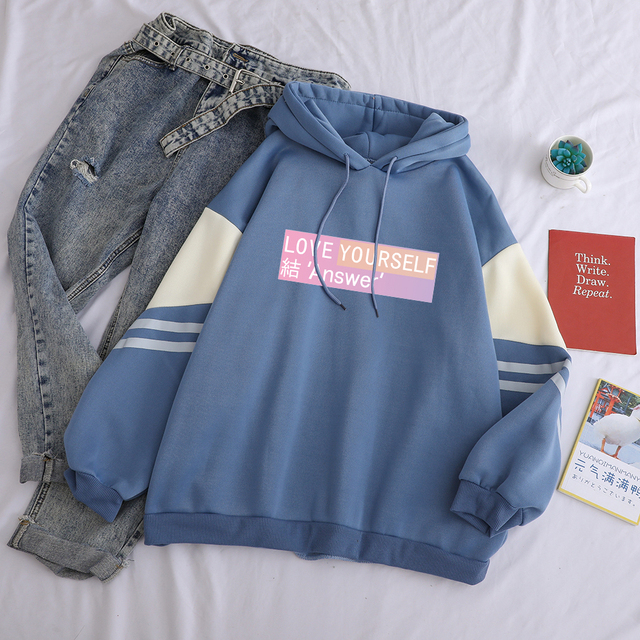 LOVE YOURSELF ANSWER HOODIE (3 VARIAN)